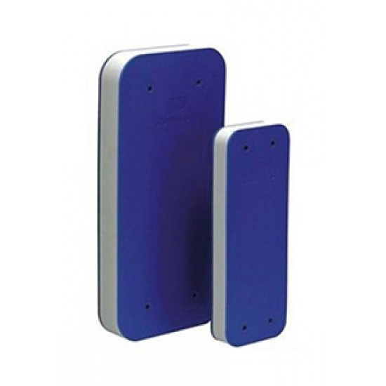 Defensa plana polietileno azul 650x240mm