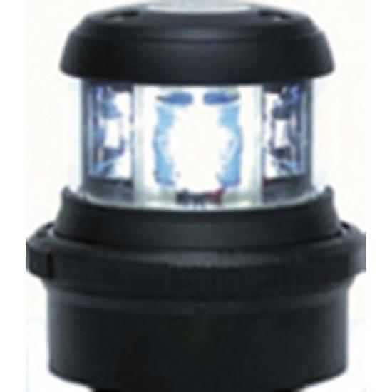Luz de navegacion Led Aquasignal S34 señal de Proa Carcasa Negra