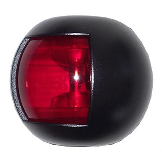 Luz de Navegacion Led Delfi Carcasa Negra Luz Roja