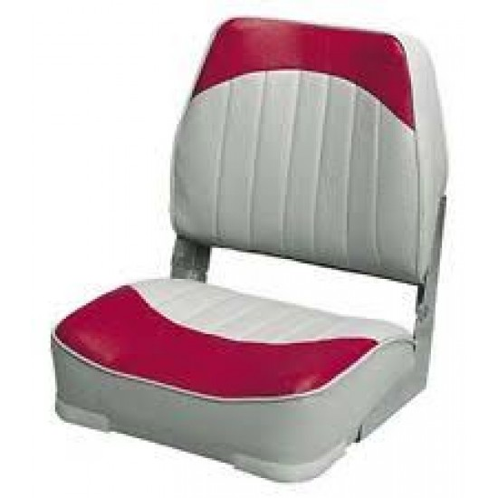 Asiento Wise abatible gris-rojo
