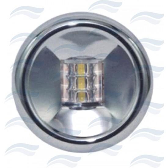 Luces - LUZ ALCANCE LED 12V DIA.76 NEGRA