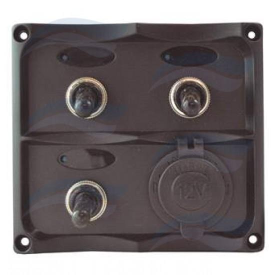 Paneles - PANEL ELECTRICO 12V 3+1