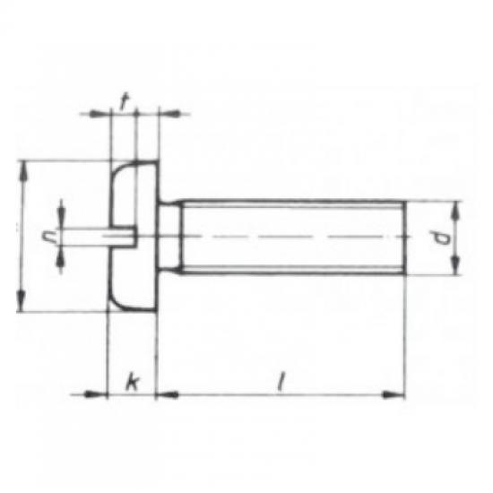 Tornillería - TORNILLO DIN85 A4 6x30 (4)