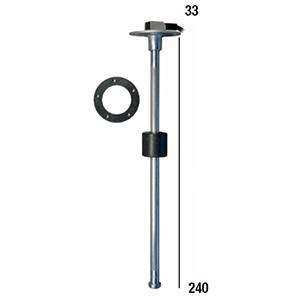Aforadores - AFORADOR COMBUSTIBLE INOX 1200mm