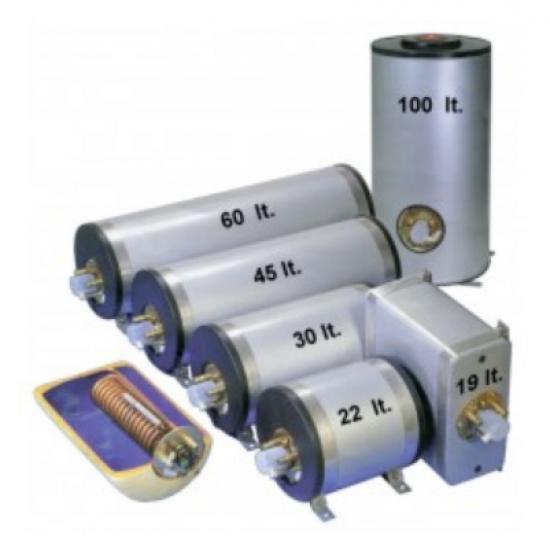 Calentadores - CALENTADOR AGUA 80L INOX 230V 1250W