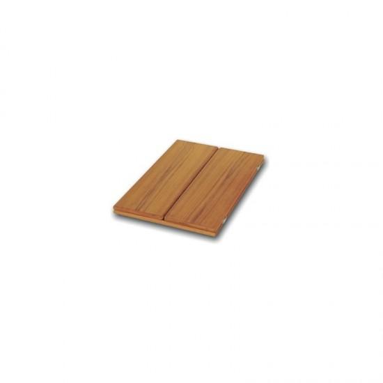 Mobiliario - TABLERO MESA PLEGABLE TECA 66x90cm