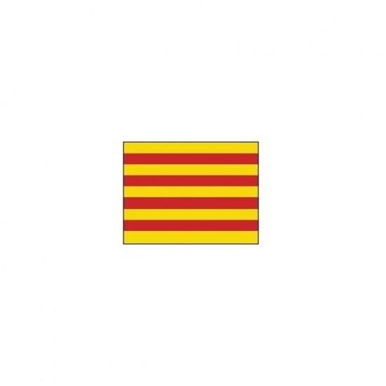 Banderas - BANDERA CATALUÑA       30x 20cm