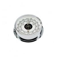 Relojes - BAROMETRO CROMADO 120mm DIAL 95mm