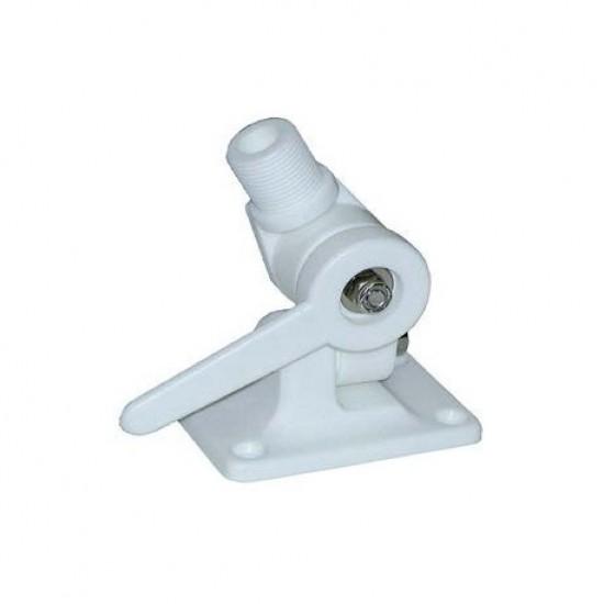 Antenas - BASE ANTENA ABATIBLE CUBIERTA PVC BLANCO