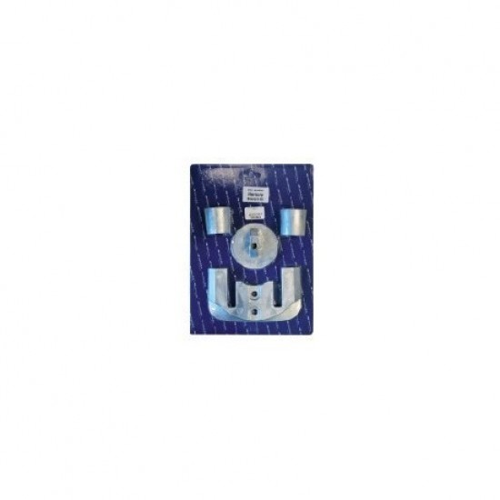 Anodos - Kit de anodos aluminio Mercury Verado 4/Optimax