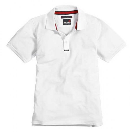 Polos Pique (White - XL)
