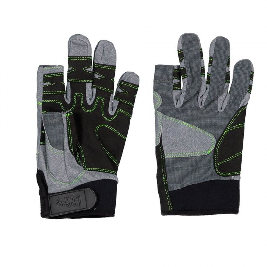 Guantes 2 Finger Cut Amara (Grey - L)