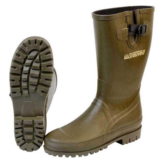 Botas Oregon Rubber Boots (Brown - EU 42)