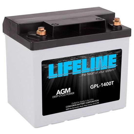 Cargadores y baterías Agm Starting (GPL-1400T - 43Ah (12V))