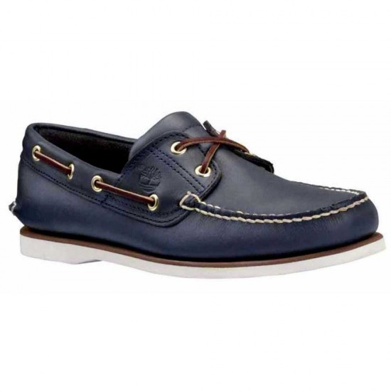 Zapatos Classic 2 Eye Shoes Wide (Smooth Navy - EU 46)
