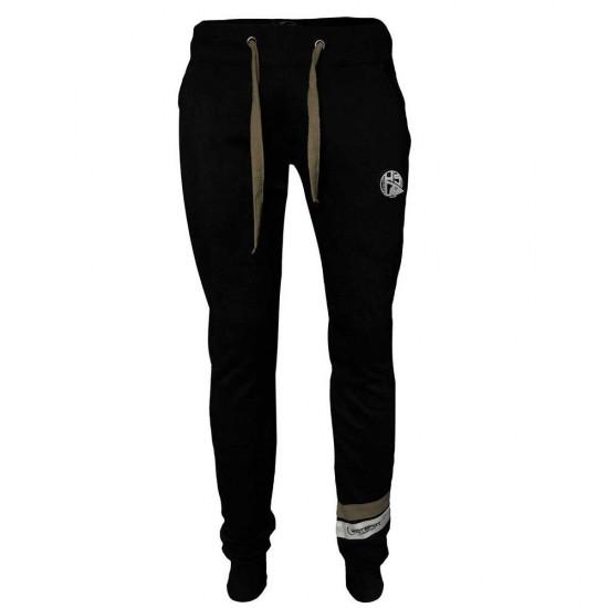 Pantalones Hsd Brown Stripes (Black - M)