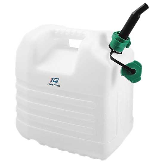 Depositos de Agua Jerrycan With Spout (White - 20 litros)