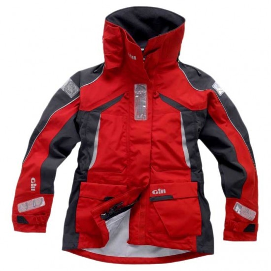 Chaquetas Os1 Jacket Women (Red - 8)
