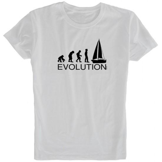 Camisetas Evolution Sail (White - M)