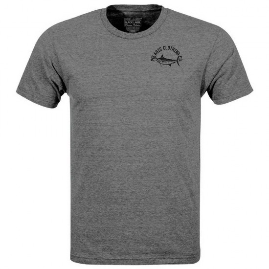 Camisetas Black Label Marlin Nation (Grey - XXL)