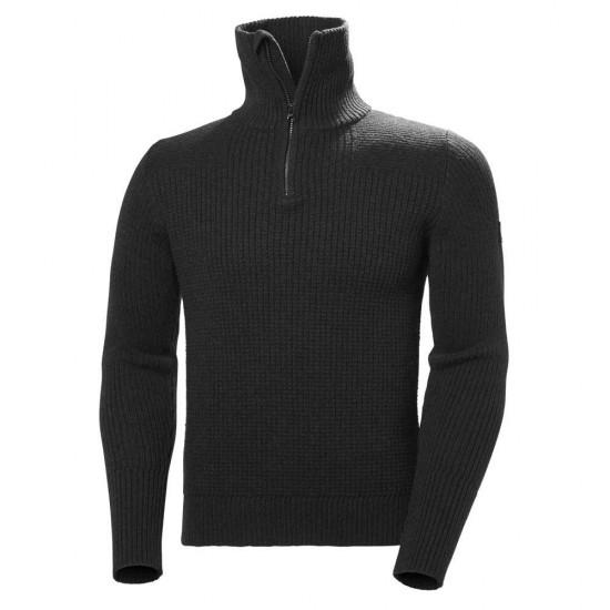 Forros polares Marka Wool Sweater (Ebony Melange - XXL)
