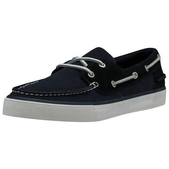 Zapatos Sandhaven Deck (Navy / Off White / Alert Red - EU 46 1/2)