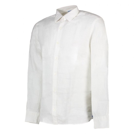 Camisas Point Collar Regular (White - XXL)