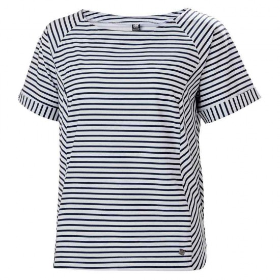 Camisetas Thalia (Navy Stripe - M)