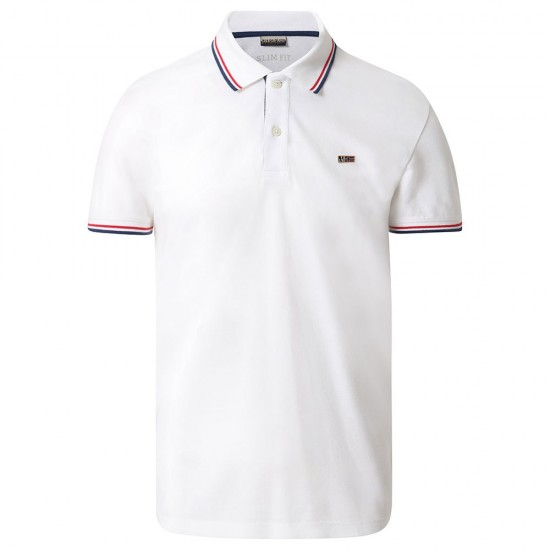 Polos Taly Stripe 3 (Bright White - XL)