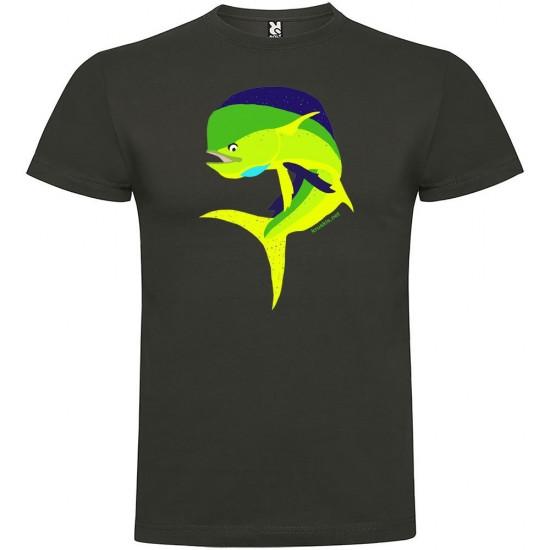 Camisetas Jumping Dorado (Dark Grey - XXXL)