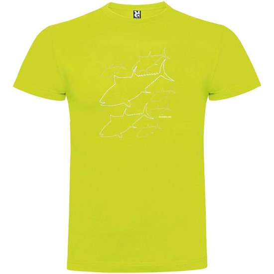 Camisetas Tuna (Light Green - M)