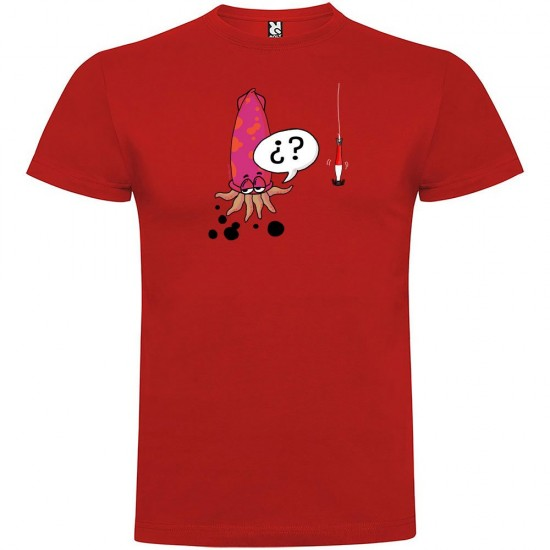 Camisetas Squid (Red - XXXL)