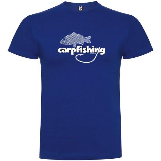 Camisetas Carpfishing (Royal Blue - M)