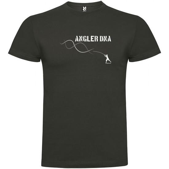 Camisetas Angler Dna (Dark Grey - L)