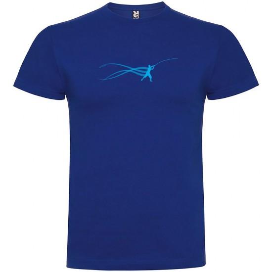 Camisetas Fish Estella (Royal Blue - S)