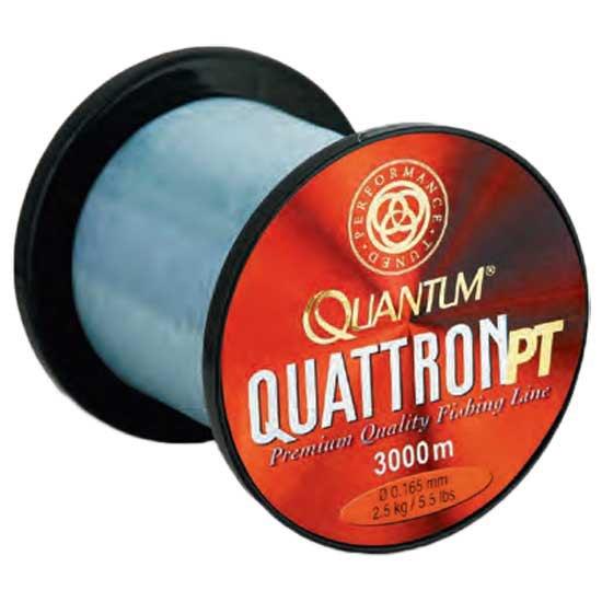 Líneas de pesca Quattron Pt 3000 M (Transparent - 0.180 mm)