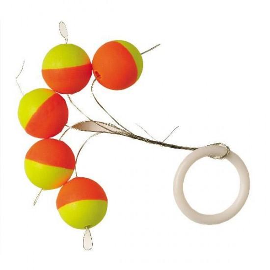 Accesorios de Líneas de pesca Round Float (Luminous (5 pcs) - 6.5 mm)