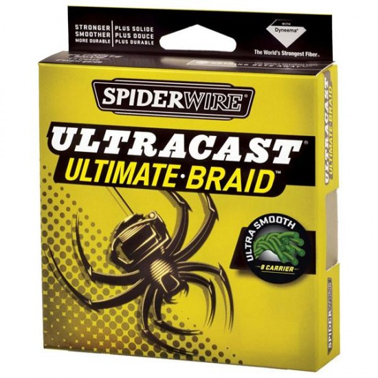 Líneas de pesca Ultracast Ultimate Braid 8h 270 M (Green - 0.350 mm)