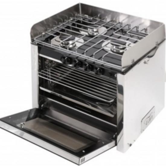 Cocinas - COCINA 3 FOGONES + HORNO 500x410x390