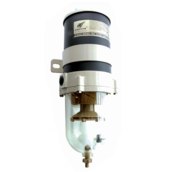 FILTRO GRIFFIN DE GASOIL - SEPARADOR DE AGUA 341LPH