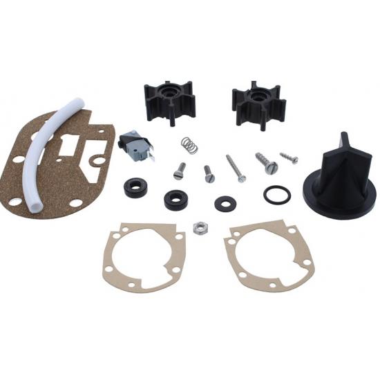 Kit de Reparación Jabsco para Bombas conversión Inodoro Manual en Eléctrico