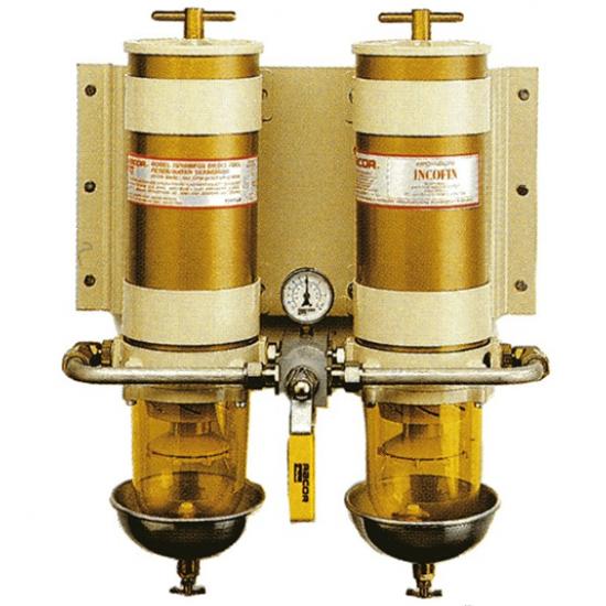Filtros - FILTRO DOBLE PERMUTABLE C/MANO.340/680LH