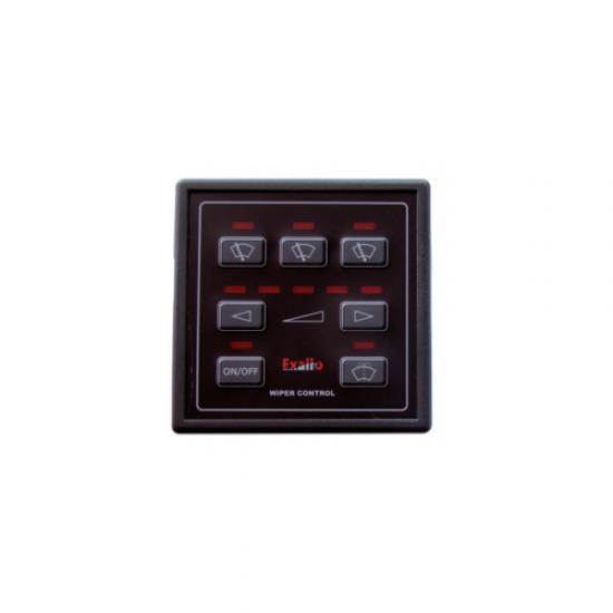 PANEL CONTROL 3 MOTORES EXALTO HD 12/24V