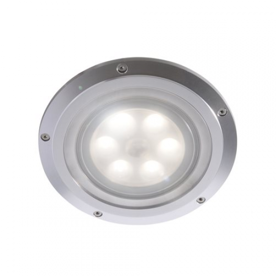 SPOT IP65 EMPOTRABLE BREVIK LED ALUMINIO-12/24V. Ø160MM