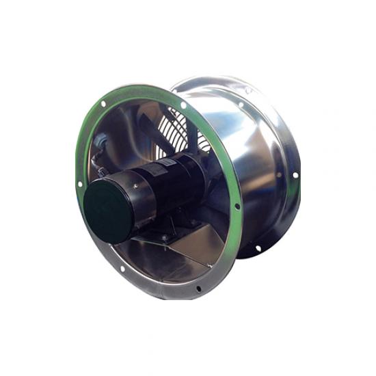 VEX35-VENTILADOR HELICOIDAL REVERSIBLE-INOX-24V
