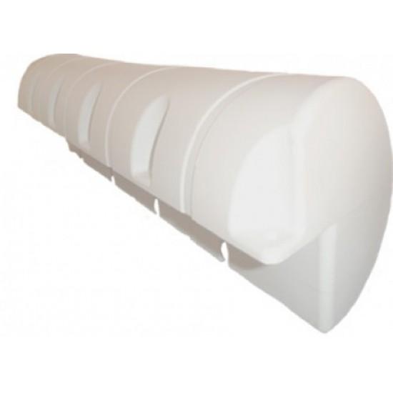 Bumper 3/4 Standard 25 x 90 cm Blanco