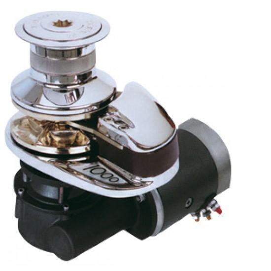 Molinete Lofrans X2 cadena 6mm 24v 1000wt con campana