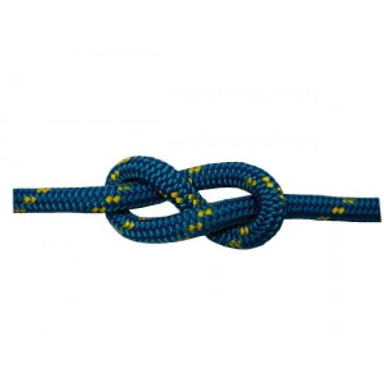Driza y Escota Azul Poliester Alta Tenacidad 6mm