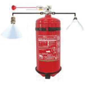 Extintor Firekill  Kg 3 para Intrabordas