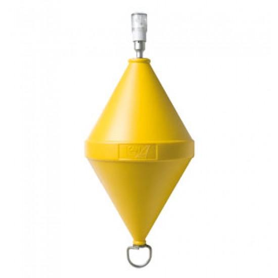 Boya de señalizacion Naranja con luz Led 50 x 103 cm